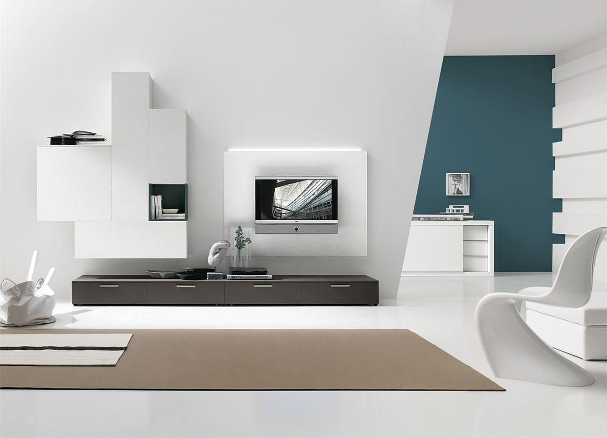 корпусная мебель модерн для гостиной Tomasella C129 из коллекции