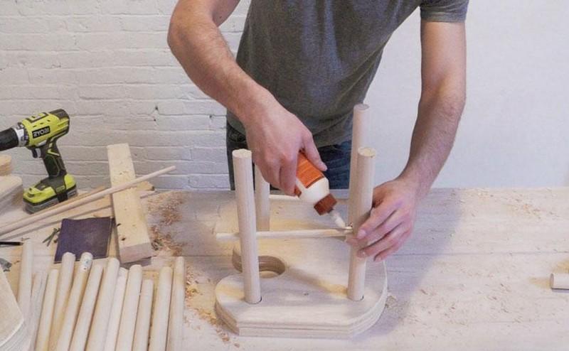 Как сделать табурет своими руками(фото) ДОМ, САД