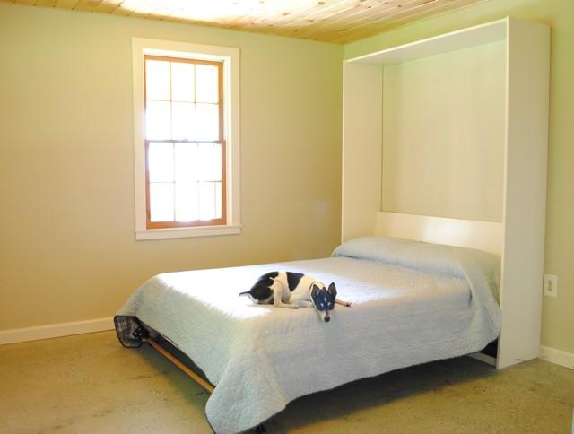 откидная кровать в действии