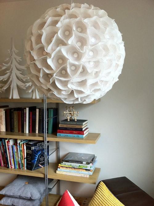 Как обновить настольную лампу своими руками