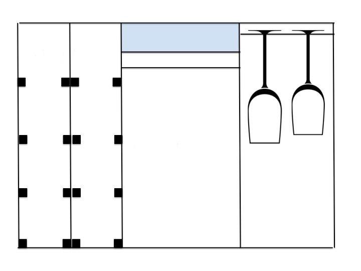 схема мини-бара