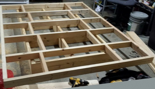 Free Garage Folding Workbench Plans  Plans For Building